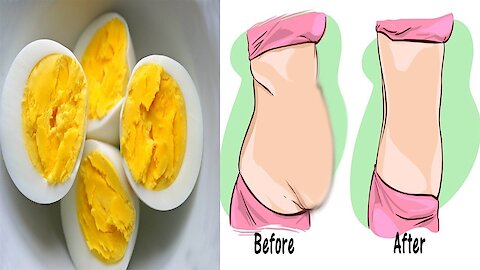 How to lose 12 pounds in 1 week with this egg diet