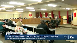 Union Public Schools unanimously votes to discontinue 'Redskins' mascot, logo