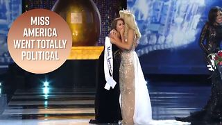 Miss America 2018 proves politics matters too - Video