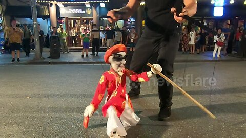Synched up puppet show amazes in Vietnam