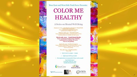 Color Me Healthy – A Series on Mental Well-Being