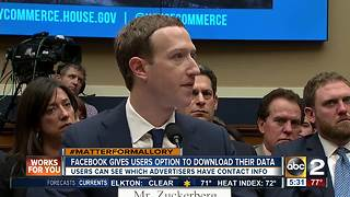 Facebook gives users option to download data - Video