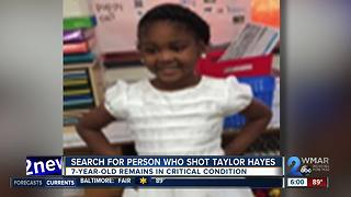 Search for person who shot Taylor Hayes