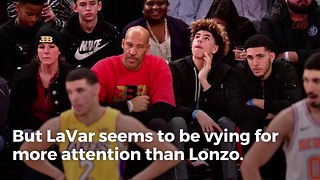 NBA Executives Think Lonzo Ball Should Tell His Dad To Pipe Down