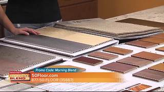 50 Floor stops by the Morning Blend to talk about their great October sales - Video