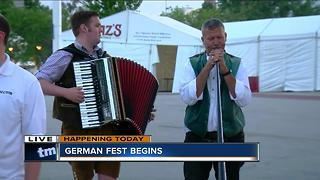 German Fest returns to the Summerfest grounds - Video