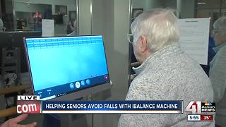Helping seniors avoid falls with machine - Video