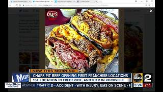 Chaps Pit Beef opens location in Frederick - Video