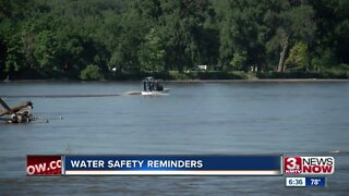 Water safety reminders