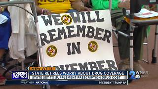 State retirees worry about drug coverage - Video