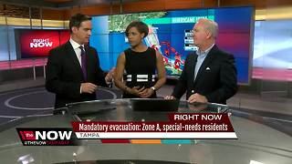 Tampa Mayor Bob Buckhorn talks about evacuations - Video