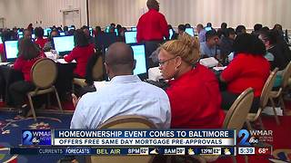 Homeownership event comes to Baltimore