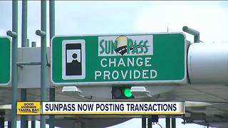 SunPass now posting transactions - Video