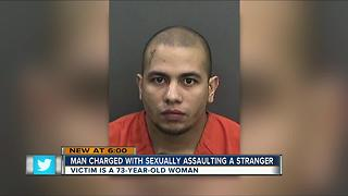 Deputies accuse 25-year-old man of sexually assaulting 73-year-old woman