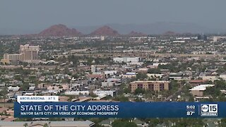 Phoenix mayor gives State of the City address