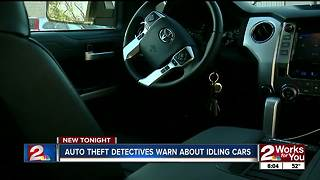 Colder weather coming, police warning drivers of idling car thefts - Video