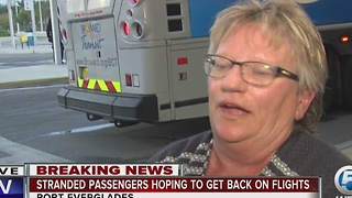 Stranded passengers still trying to get home - Video