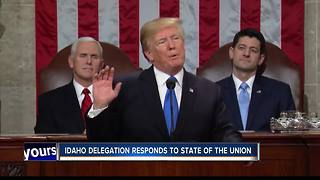 Idaho's congressional delegation reacts to State of the Union Address - Video