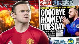 Could Wayne Rooney Leave Manchester United for £30m? | Transfer Talk - Video