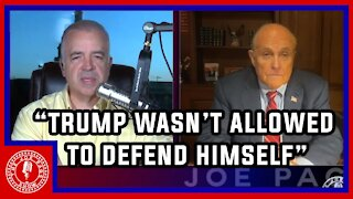 Rudy Giuliani Gets Real about Trump, The NYS Bar and his Future
