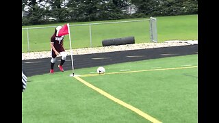 Soccer Player Wows Crowd With 'Butt Goal'