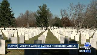 Donations needed to honor Fort Logan National veterans - Video