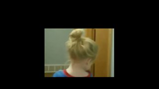 This Little Girl Was Not Happy With Dad's Hairstyling Skills - Video