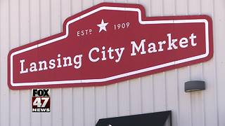 Group to protest closing of Lansing City Market prior to council meeting - Video