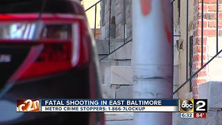 24-year-old man killed in East Baltimore Friday night - Video
