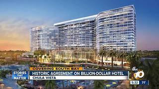 Historic agreement on billion-dollar hotel - Video