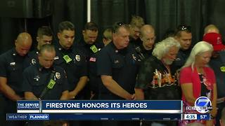 Town of Firestone honors first responders months after home explosion