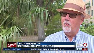 Local group revelas plan to change how we vote in Lee County - Video