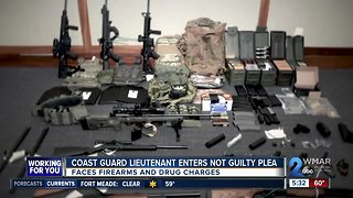 Coast Guard Lt. accused of plotting terror attack pleads not guilty