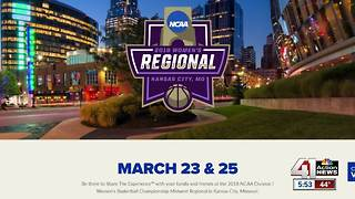 NCAA Women's Basketball Regional is in KC - Video