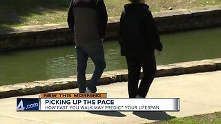 Study shows fast walkers expected to live longer