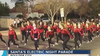 Santa's Electric Night Parade marches through Boulder City - Video