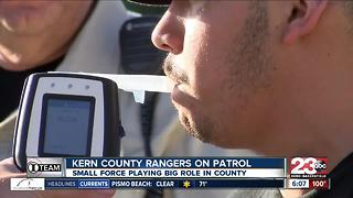 Kern County Rangers work to keep the community safe with limited resources - Video