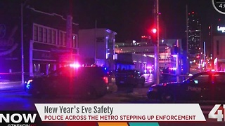Police stepping up enforcement on New Year's Eve