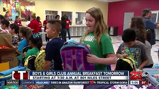 Boys and Girls Club to hold annual breakfast Wednesday