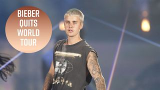Why Justin Bieber cancelled his world tour - Video