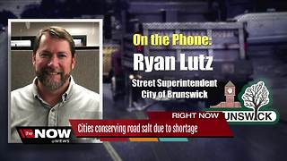Cities conserving salt due to shortage - Video