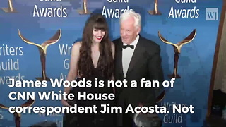 James Woods Takes Twitter War To New Level, Scorches Cnn 'Whore' Jim Acosta