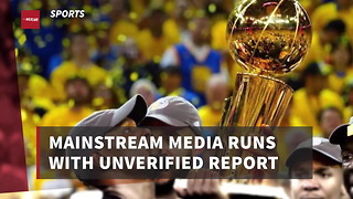 Mainstream Media Runs With Unverified Report That Warriors Won't Visit White House - Video