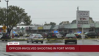 Officer-involved shooting in Fort Myers