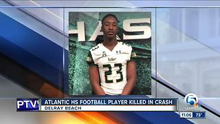 Delray Beach football player killed in crash - Video