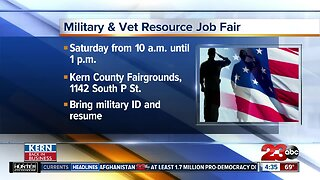 Army and National Guard holding hiring event for veterans Saturday at the Kern County Fairgrounds