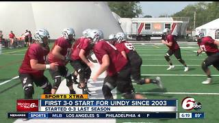University of Indianapolis has solid start to 2017 football season - Video