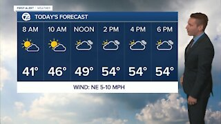 Drying out but cold this morning in metro Detroit