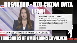 BIG DATA LEAK FROM CHINA THAT WILL EXPOSE GOVT, COMPANIES AND THOUSANDS OF PEOPLE!