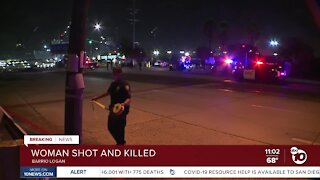 Woman shot and killed
